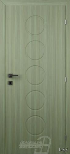 I33 beltéri ajtó minta