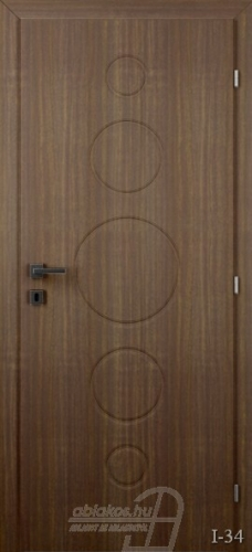 I34 beltéri ajtó minta