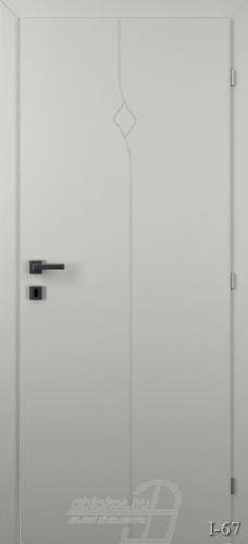 I67 beltéri ajtó minta