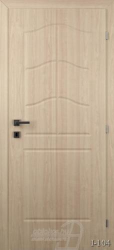 I104 beltéri ajtó minta
