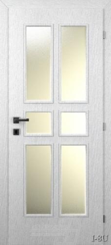 I8U beltéri ajtó minta