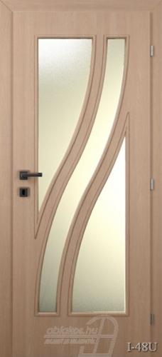 I48U beltéri ajtó minta