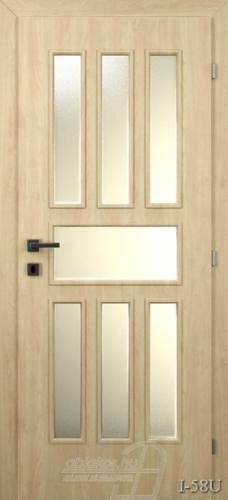 I58U beltéri ajtó minta