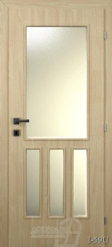I59U beltéri ajtó minta