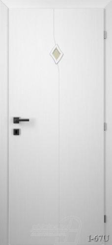 I67U beltéri ajtó minta