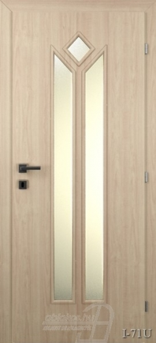 I71U beltéri ajtó minta