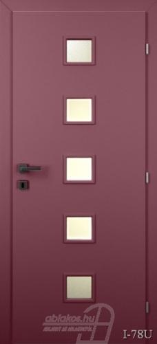 I78U beltéri ajtó minta
