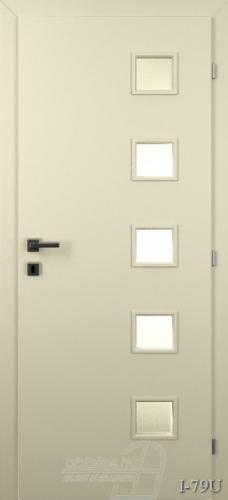 I79U beltéri ajtó minta