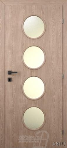 I81U beltéri ajtó minta