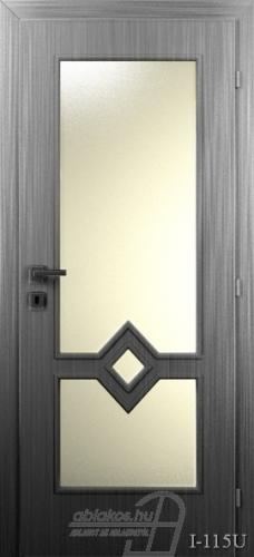 I115U beltéri ajtó minta