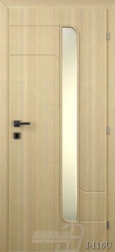 I116U beltéri ajtó minta