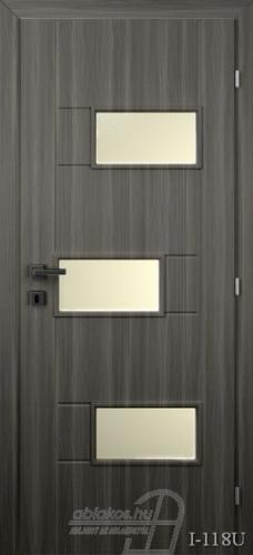 I118U beltéri ajtó minta