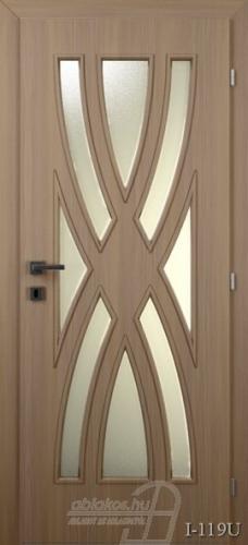 I119U beltéri ajtó minta
