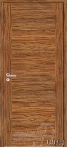 U03H beltéri ajtó minta