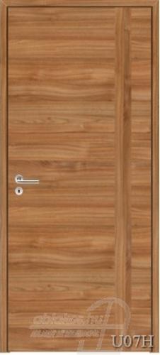 U07H beltéri ajtó minta