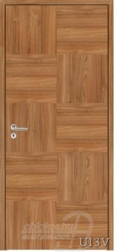 U13V beltéri ajtó minta