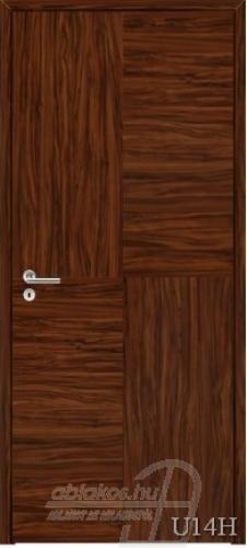 U14H beltéri ajtó minta