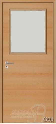 G03 beltéri ajtó minta