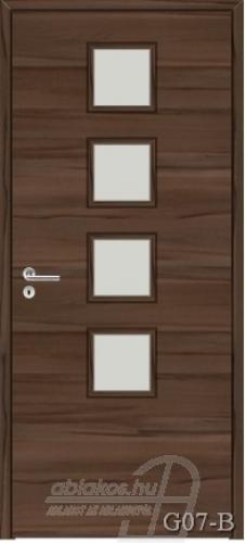 G07-B beltéri ajtó minta