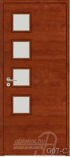 G07-C beltéri ajtó minta