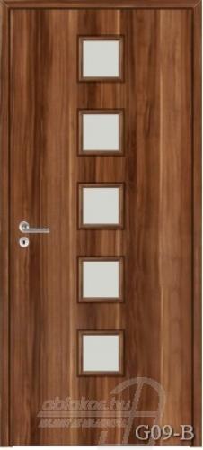 G09-B beltéri ajtó minta