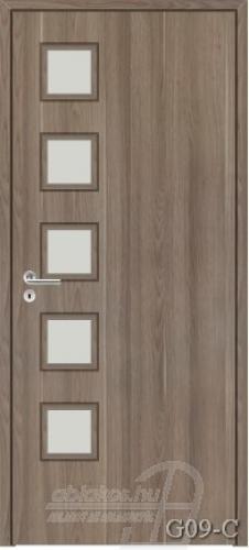 G09-C beltéri ajtó minta
