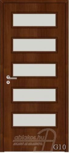 G10 beltéri ajtó minta