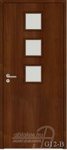 G12-B beltéri ajtó minta