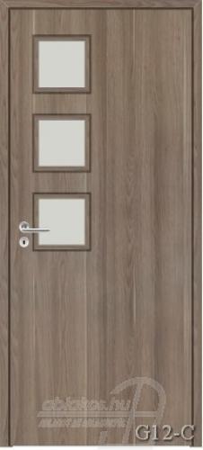 G12-C beltéri ajtó minta