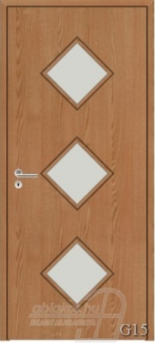 G15 beltéri ajtó minta