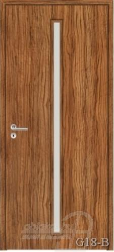 G18-B beltéri ajtó minta