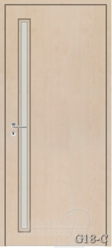 G18-C beltéri ajtó minta