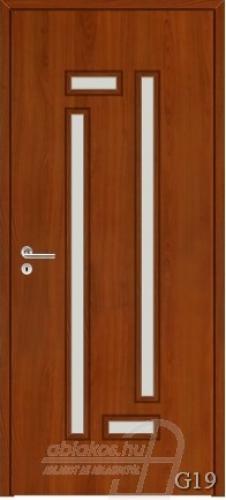 G19 beltéri ajtó minta
