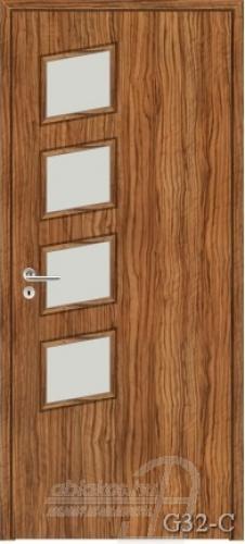 G32-C beltéri ajtó minta