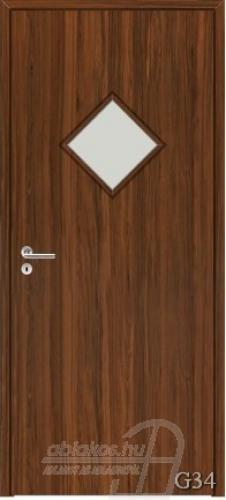 G34 beltéri ajtó minta