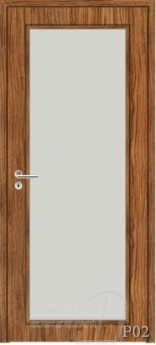 P02 beltéri ajtó minta