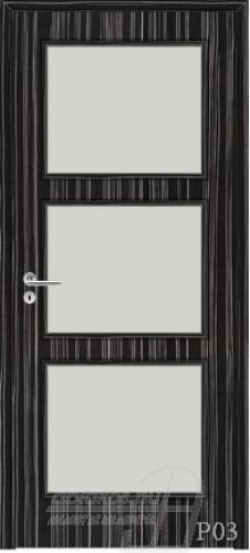 P03 beltéri ajtó minta