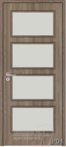 P04 beltéri ajtó minta
