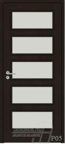P05 beltéri ajtó minta