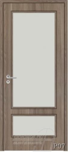 P07 beltéri ajtó minta