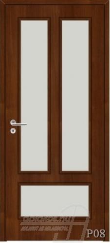 P08 beltéri ajtó minta