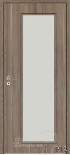 P12 beltéri ajtó minta