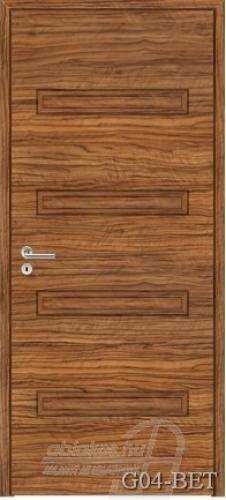 G04-BET beltéri ajtó minta