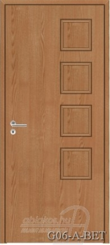 G06-A-BET beltéri ajtó minta