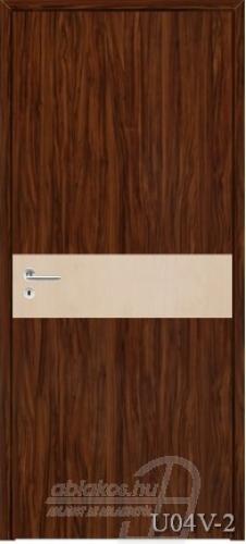 U04V-2 beltéri ajtó minta