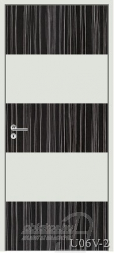 U06V-2 beltéri ajtó minta