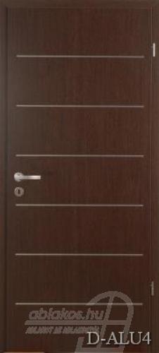 D-ALU4 beltéri ajtó minta