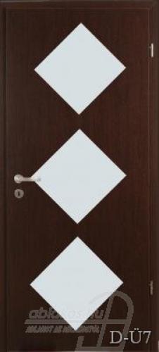 D-Ü7 beltéri ajtó minta