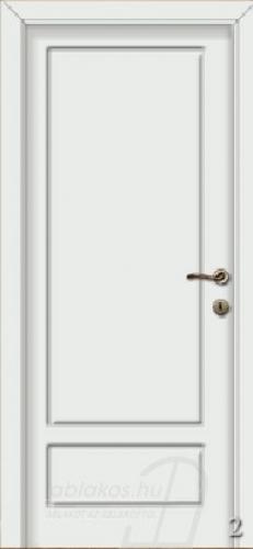 2. számú festett beltéri ajtó minta