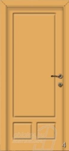4. számú festett beltéri ajtó minta